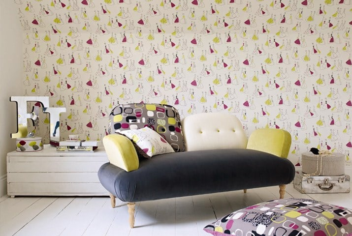 Charming The Sanderson 50u0027s Collection Combines Original 1950u0027s Designs From The  Sanderson Archive With Designs From Contemporary Artists Who Have Taken  Great ...
