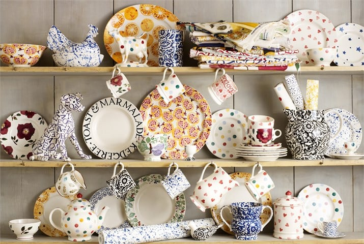 EMMA BRIDGEWATER FOR SANDERSON